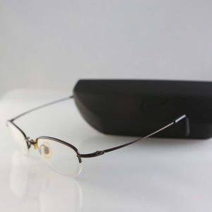Nike Accessories - Nike eyeglasses, metal frame, Rx lenses Japan case